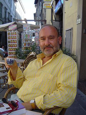 Salvatore Sciarrino, Italian composer, at the ...