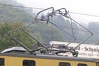 http://en.wikipedia.org/wiki/File:Schynige_Platte_diamond_pantograph.jpg