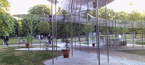 English: The 2009 Summer Pavilion at the Serpe...