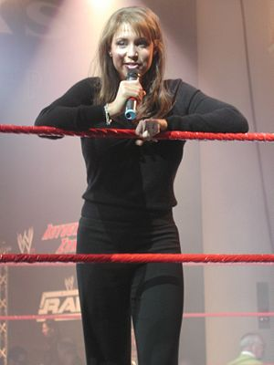 Stephanie McMahon at WWE Fan Axxess. Seahawks ...
