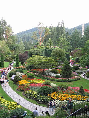 Victoria's world famous Butchart Gardens are a...