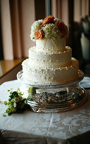 English: Wedding cake