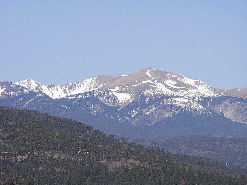 Tossers - Wheeler Peak, N.M.