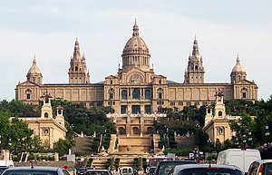 Catalunya National Museum of Art (MNAC), in Ba...