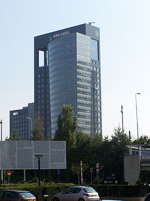 ABN AMRO headquarters in Amsterdam.
