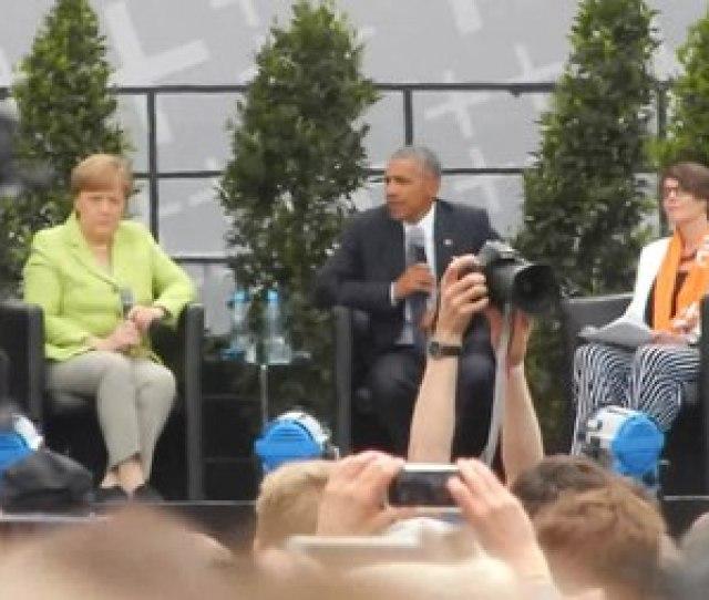 Filebarack Obama In Berlin Auf Dem Kirchentag  S Webm