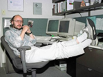 Photo of Bjarne Stroustrup, creator of the pro...