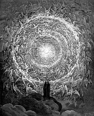 The Empyrean (highest heaven), from the illust...