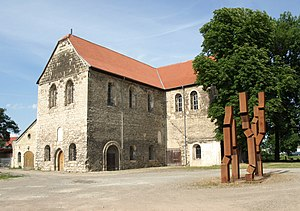 Sankt-Burchardi-Church in Halberstadt, Germany