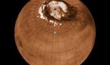 Mars Phoenix lander landing site