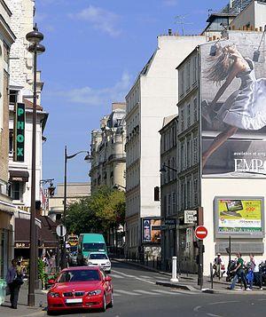 Français : rue Benjamin Franklin - Paris XVI