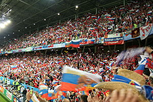 English: Greece - Russia Euro 2008