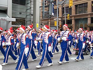 The 105th Santa Claus Parade 2009, Toronto, On...