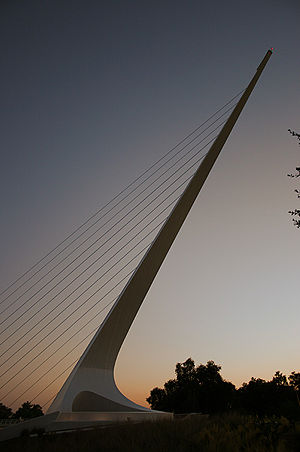 Sundial Bridge at Turtle Bay, Redding, California