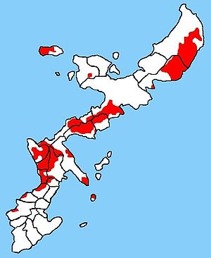 US Military bases in Okinawa, see also Image:U...