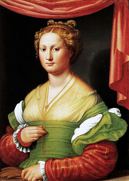 Bildresultat för Vannozza Cattanei (?). Innocenzo da Imola