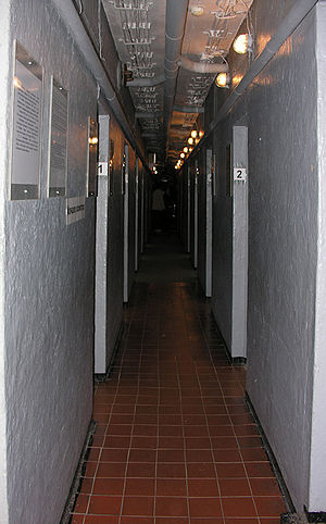 English: Otto Lasch bunker interior. Русский: ...