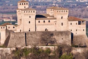 Castle of Torrechiara, near Parma (Italy)