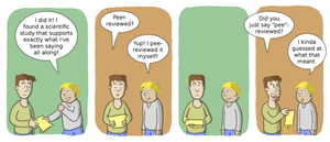 Comic on the quality of different methods of p...