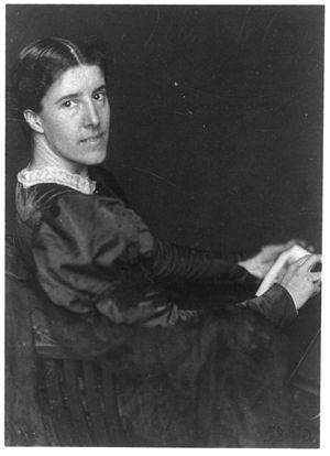 American feminist poet and writer Charlotte Pe...