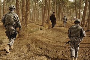 U.S. Soldiers from Headquarters Headquarters C...