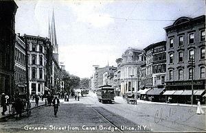 Genesee Street, Utica See Image:Utica NY c1909...