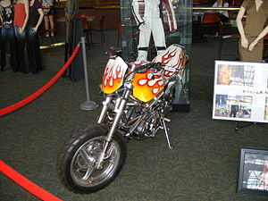 Français : Ghost Rider motorcycle