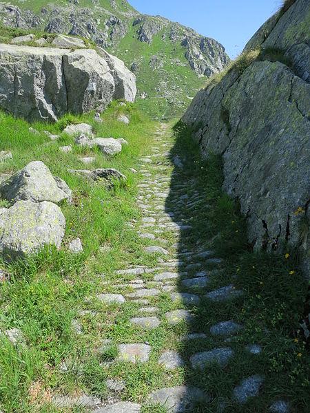 Gotthardpass Saumweg