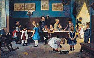 Hugo Oehmichen Im Kindergarten