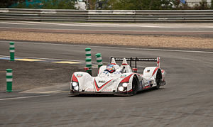 Zytek Z11SN Nissan from the team Greaves Motor...