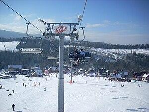Małe Ciche, wyciąg narciarski (en Male Ciche s...