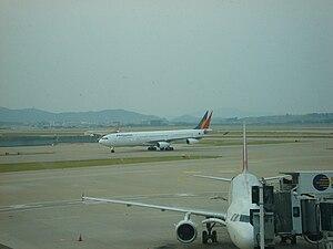 English: Philippine Airlines in Incheon Intern...
