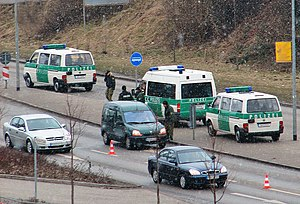 Sobriety checkpoint in Germany