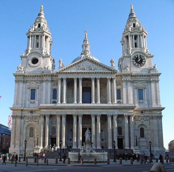 Cattedrale di San Paolo (Londra) - Wikipedia