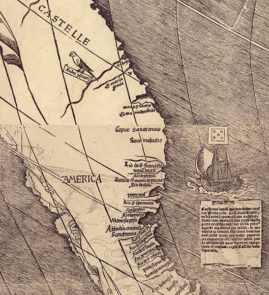 Fichier:Waldseemuller map closeup with America.jpg