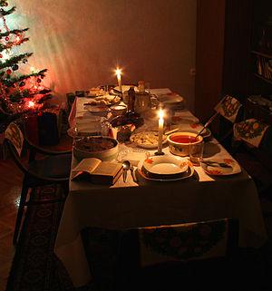 Polski: kolacja wigilijna - dania