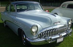 1953 Buick Super Series 50 Model 52 4-door Sed...