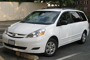 2007-2010 Toyota Sienna photographed in Washin...