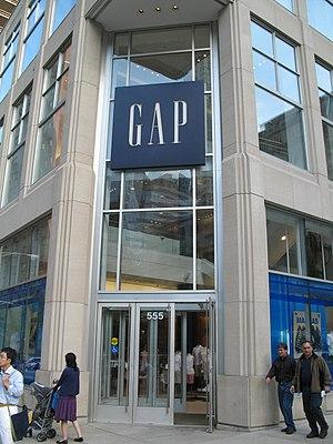 English: Gap
