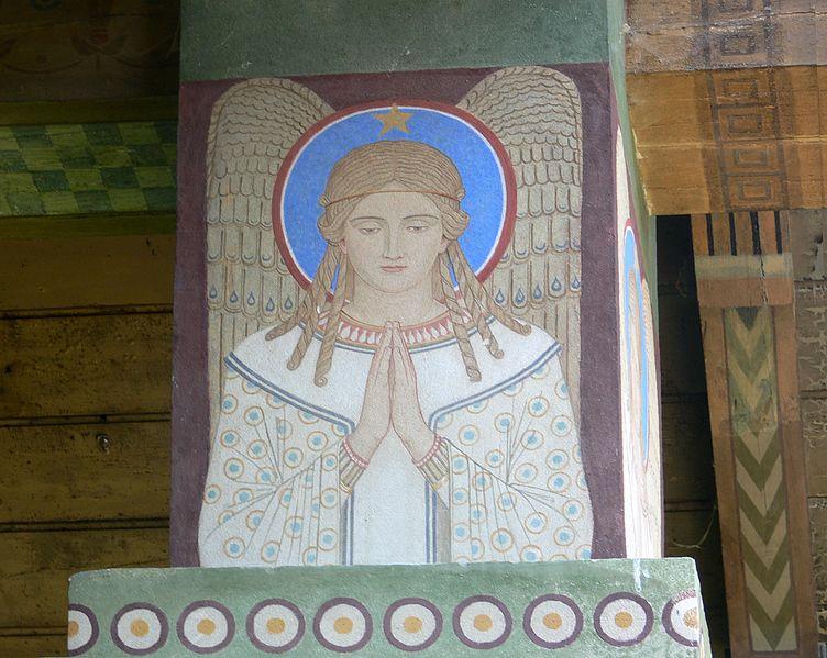 File:Beuron Mauruskapelle Engel 2.jpg