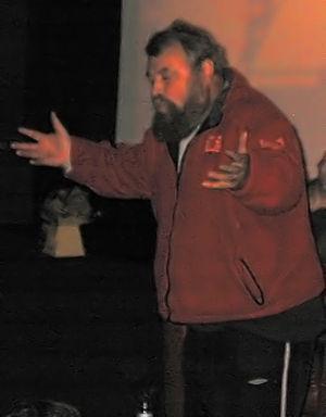 Brian Blessed at Cambridge Film Festival, crop...