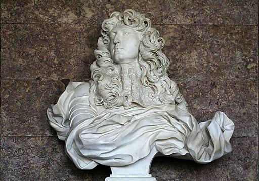 partenariat Château Versailles Wikimedia - Château de Versailles, salon de Diane, buste de Louis XIV, Bernin (1665) 03