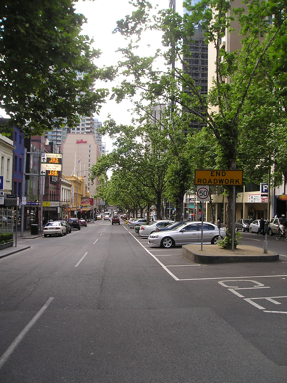 Exhibition Street Melbourne Wikipedia