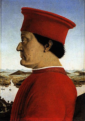 Federico III da Montefeltro, Duke of Urbino. P...