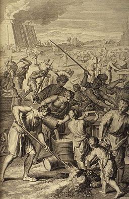 Figures The Israelites' Cruel Bondage in Egypt