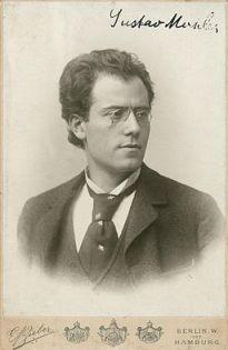 Gustav Mahler (1893) by Bieber