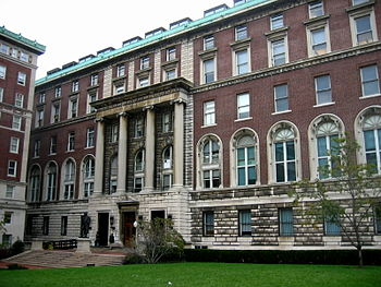 English: Columbia Journalism School building; ...