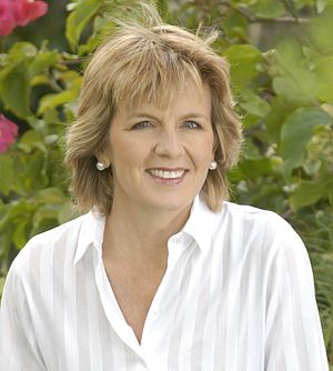 Julie Bishop at a Liberal function in Adelaide...