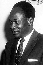 Mugabe was inspired by the example set by Ghana's Kwame Nkrumah