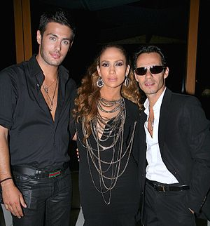 English: Kostas Martakis, and Marc Anthony